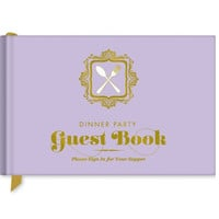 Dinner Party Guest Book - A One of a Kind Keepsake!