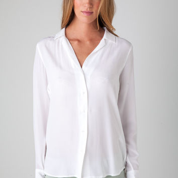 Adalyn Shirt in Bright White