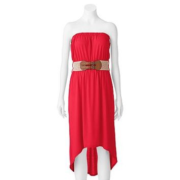 Derek Heart Hi-Low Dress - Juniors