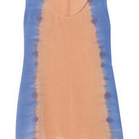 Sandro|Equinoxe tie dye-print silk tank|NET-A-PORTER.COM