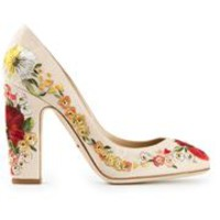 Dolce & Gabbana Embroidered Pumps - Stefania Mode - Farfetch.com