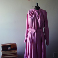 Pink Homemade Dress by JezzyBelles on Etsy