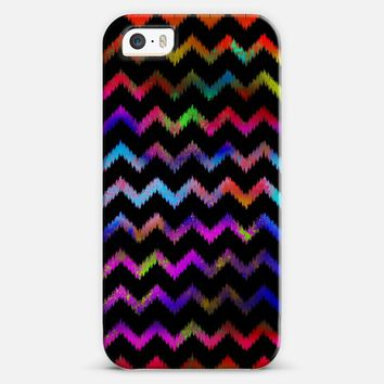 Color Explosion Ikat Chevron iPhone 5s case by Organic Saturation | Casetify