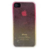 Raindrops Crystal PC Protective Case for Apple iPhone 4 (Red)--Jeremy iphone case-Tiendaperfectay online Mall -  Tablet Pc Wholesale