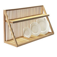 Heal's | Wooden Plate Rack > Wine & Plate Racks > Kitchen Storage > Kitchen