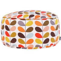 Heal's | Orla Kiely Multi Stem Bean Drum > Bean Bags > Soft Furnishings > Accessories