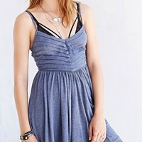 Kimchi Blue Knit Raw-Pleat Skater Dress - Urban Outfitters