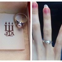 Scroll Ring with Pearl | James Avery