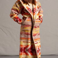 Reversible Long Coat, Satus Creek, Ivory, Pendleton® Jacket