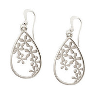Floral Burst Teardrop Earrings at the Bibelot Shops
