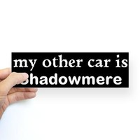 My other car is Shadowmere! - Skyrim :D