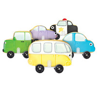 Cars Cookie Cutter and Wheels Set