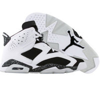Air Jordan 6 Retro - Oreo (white / black) - Shoes - 384667-101 | PickYourShoes.com