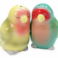 Lovebirds Salt &amp; Pepper Shakers at the Bibelot Shops