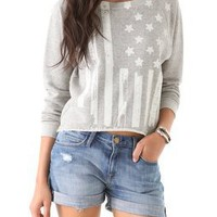 Haute Hippie Flag Sweatshirt | SHOPBOP