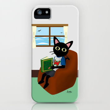 Reading a book iPhone & iPod Case by BATKEI