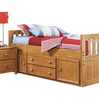 Creekside 3 Pc Twin Captain's Bed