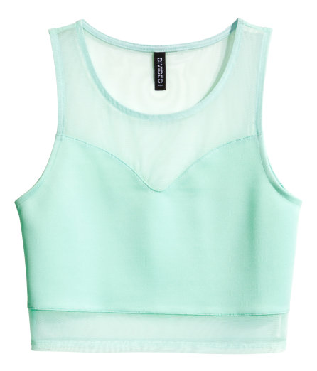 H&M - Cropped Top -