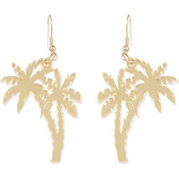 TATTY DEVINE - Palm tree earrings | Selfridges.com