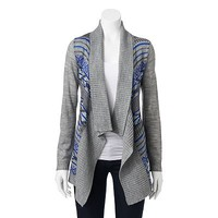 Say What? Tribal Cardigan - Juniors