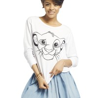 Sketched Simba™ Sweatshirt | Wet Seal