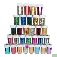 Newest Fashion 25 colors Nail Art Transfer Foil Nail Sticker Tip Decoration from Y2B:Amazon:Beauty