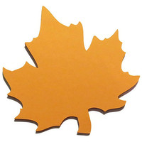Fall Wedding Large Maple Leaves - Escort Cards - Place Cards - Wish Cards - Pack of 25