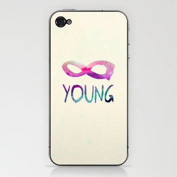 Forever Young iPhone & iPod Skin by Jacqueline Maldonado | Society6