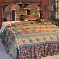 Heartland Bed In A Bag Set : Log Cabin Styles