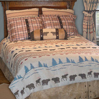 Juneau Bed In A Bag Set : Log Cabin Styles