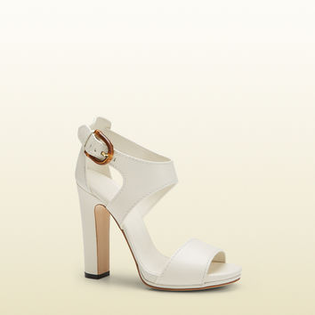 Gucci - nadege leather sandal 338712A3N009110