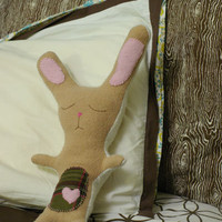 DIY stuffed bunny!