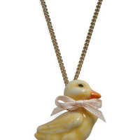 Take a Quack at It Necklace | ModCloth.com