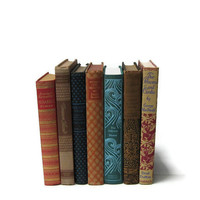Vintage Books Decorative Spines