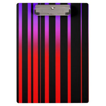 Bright Red Purple and Black Stripes