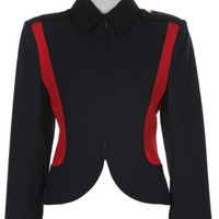 Navy & Red Armani Jacket | Jackets & Coats | Rokit Vintage Clothing