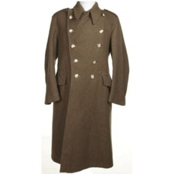 WW2 1945 Olive Green wool Overcoat | Jackets & Coats | Rokit Vintage Clothing