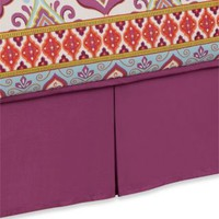 Anthology™ Theadora Bed Skirt in Mauve