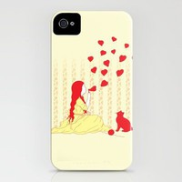 Bubbly Hearts iPhone Case by pigboom | Society6