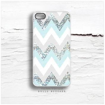 iPhone 5C Case Mint Chevron, iPhone 5s Case Geometric, Teal Chevron iPhone 4 Case, iPhone 4s Case, Geometric iPhone Case, iPhone Cover C61