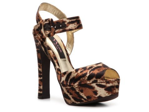 Nina Pangea Leopard Sandal New Arrivals Women&#x27;s Shoes - DSW