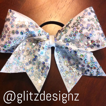 BIG Texas size cheer bow