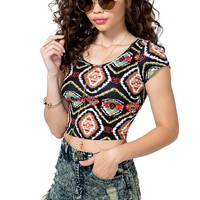 Dark Tribe Crop Top
