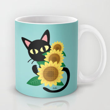 Whim with Sunflower Mug by BATKEI