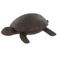 Dark Brown Cast Iron Turtle with Shell | Shop Hobby Lobby