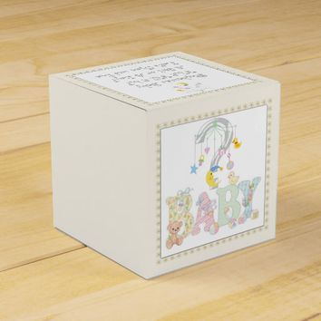 Baby Shower Gender Reveal Favor Box
