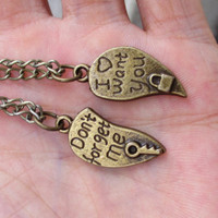 2pcsLover partner necklace lock and key by sweethearteverybody