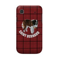 Saint Bernard Samsung Galaxy Cover from Zazzle.com