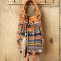Old Trend Jacquard Bucket Bag