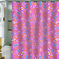 DENY Designs Home Accessories | Lisa Argyropoulos Urban Aztec Reverse Shower Curtain